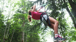 Chalet le GrillAventure Parc dans le bois de l'Alleau