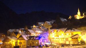 Chalet le GrillBalade nocturne dans le village