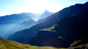 Chalet le GrillFace sud de la Meije, vallon de la Selle depuis la Muzelle