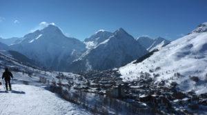 Chalet le GrillLes Deux Alpes - la Muzelle et l'Aiguille de Venosc