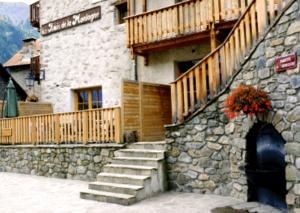 Chalet le Grillentree-terrasse