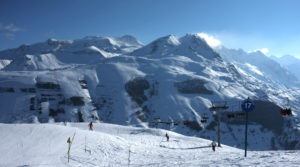 Chalet le Grillle domaine des Deux Alpes vu depuis Pied Moutet